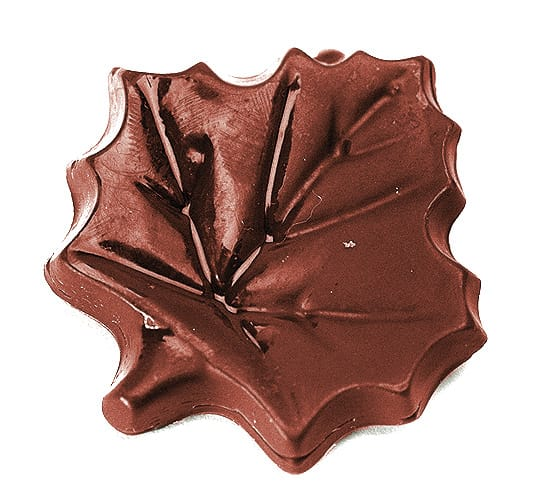 maple leaf chocolate mould, tomric systems